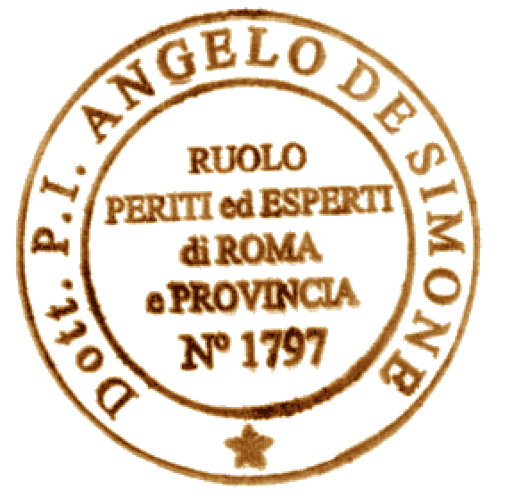 Periti ed Esperti di Roma e Provincia - Ruolo n. 1797