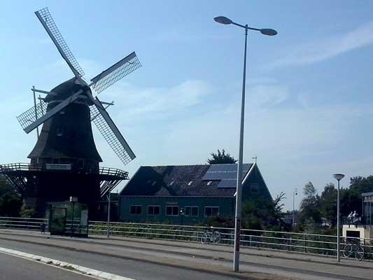 Amsterdam immagini canali mulini vento
