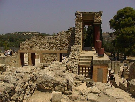 Cnosso rovine palazzo Knosso