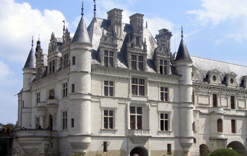 fotografie castello Chenonceau