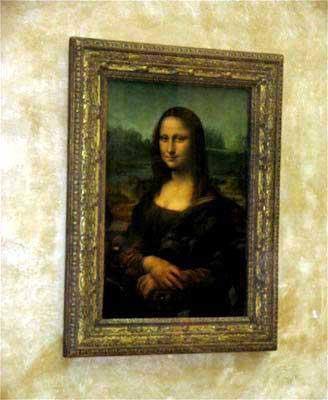 Parigi, museo del Louvre, fotografie la Gioconda, Leonardo Leonardo