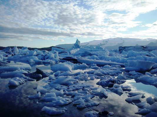 Islanda fotografia ghiacci baia degli iceberg