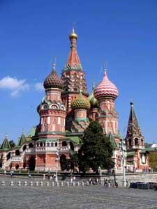 Arte del Nord Est Europa - Piazza Rossa a Mosca, il Cremlino