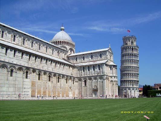 Torre pendente Pisa immagini - fotografie