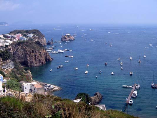 Fotografie mare paesaggi isola Ponza