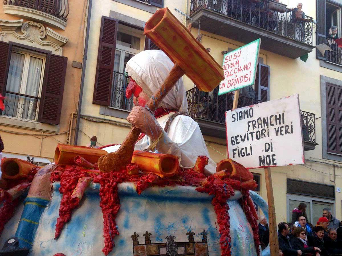carnevale storico città di Ronciglione fotografie