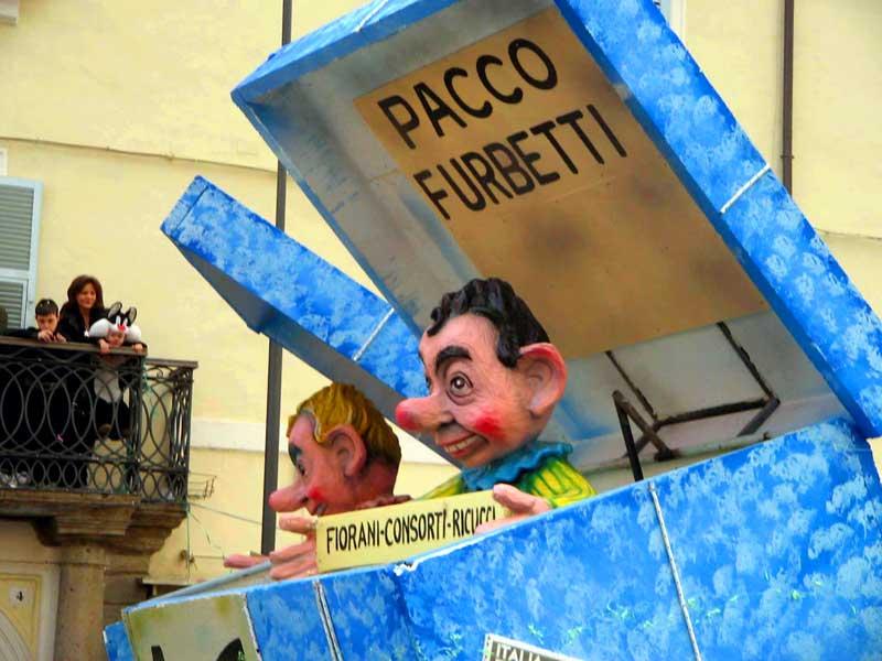 carri politici pacco spesa pacco furbetti Fiorani Consorte Ricucci