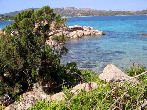 fotografie mare della Sardegna