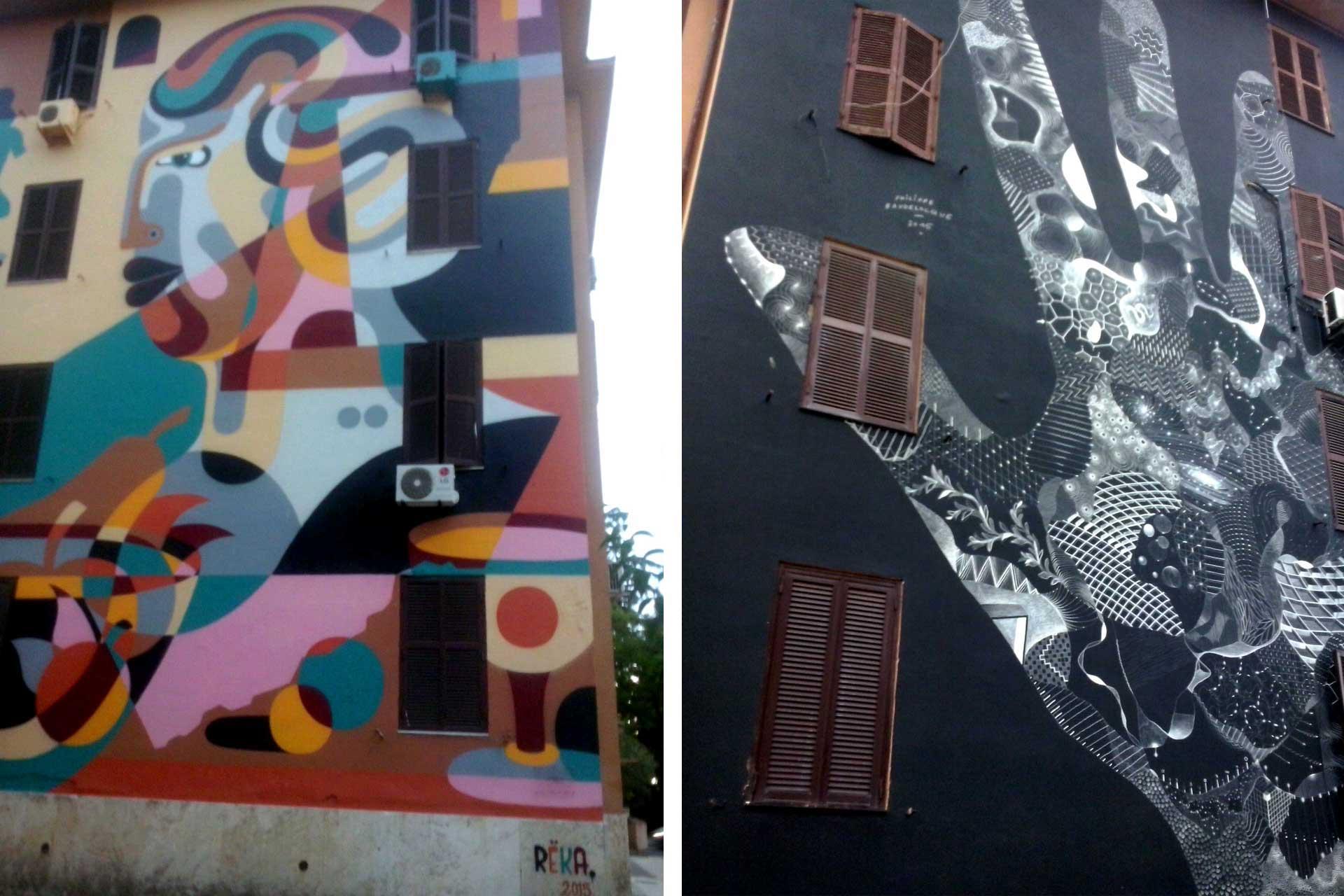 Street Art a Tor Marancia, murales e arte a Roma