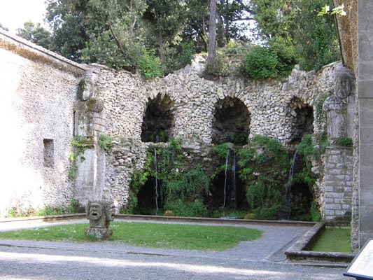 Fotografie Villa Lante - architettura giardini italiani